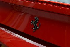 Ferrari 488 Black Chrome Rear Badge