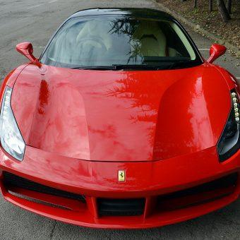 Ferrari 488 GTB Front End