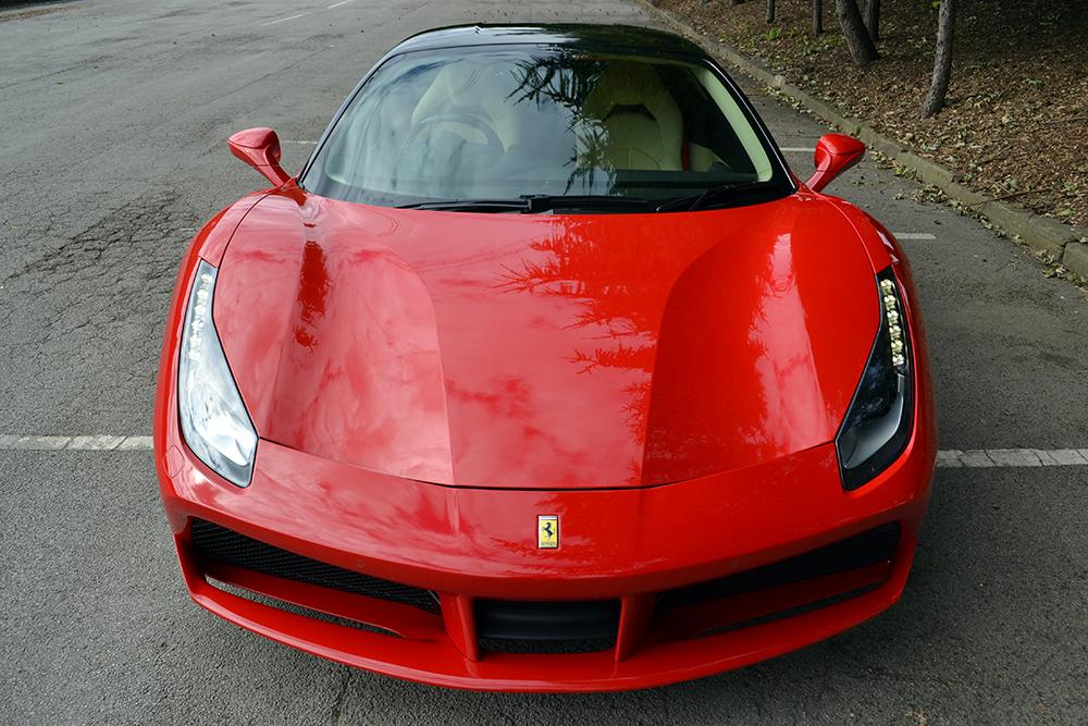 Ferrari 488 Roof Wrap