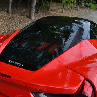Ferrari 488 GTB Roof Engine Cover
