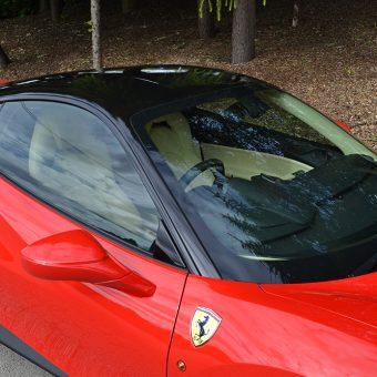 Ferrari 488 GTB Roof Wrapped
