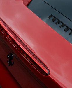 Ferrari 488 Gloss Black Badges Pair