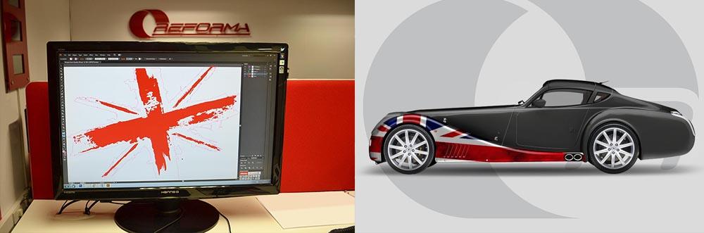 Morgan Aero Blog Graphic Design
