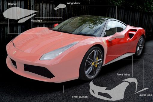 Ferrari 488 Paint Protection Film
