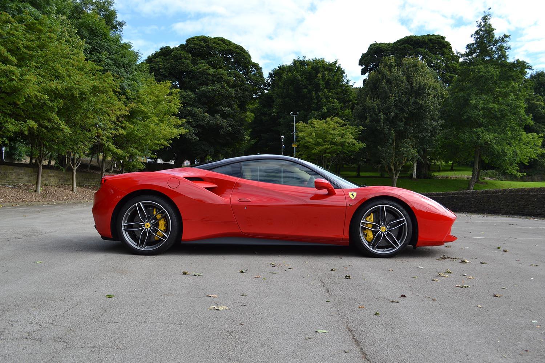 Ferrari 488 Project Banner