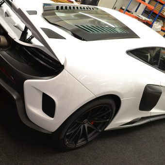 McLaren 675LT Before Above Rear
