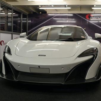 McLaren 675LT Before Graphics