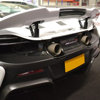 McLaren 675LT Before Rear