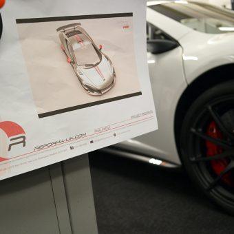 McLaren 675LT Design Sheet