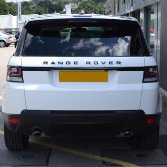Range Rover Sport 1380 Gloss White Rear
