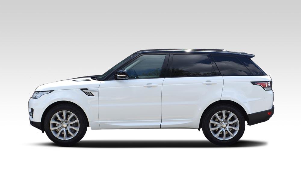 Range Rover Black >> Range Rover Sport - Full Wrap in White - Reforma UK