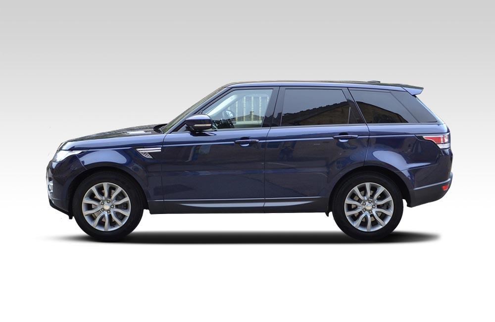 Before-Range Rover Sport - Full Wrap in White