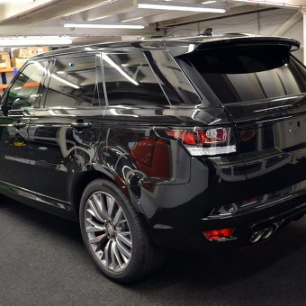 Range Rover Sport Rear Before Wrap