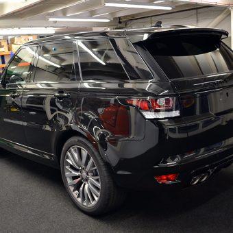 Range Rover Sport Rear Before Wrap