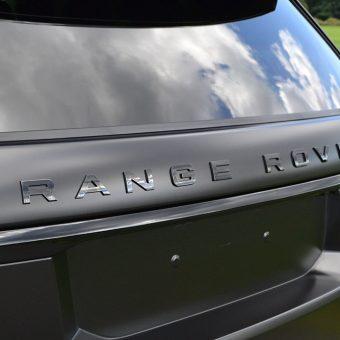 Range Rover Sport SVR Gloss Black Badges