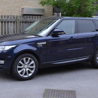 Range Rover Sport Wrap Before Angled Front