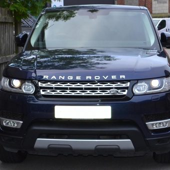 Range Rover Sport Wrap Before Front