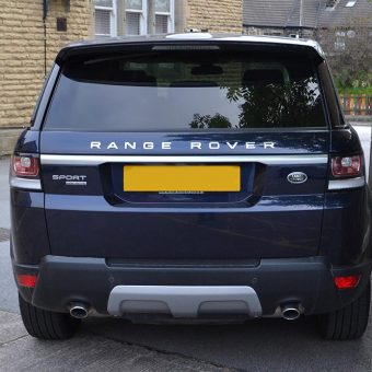 Range Rover Sport Wrap Before Rear
