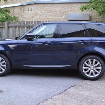 Range Rover Sport Wrap Before Side