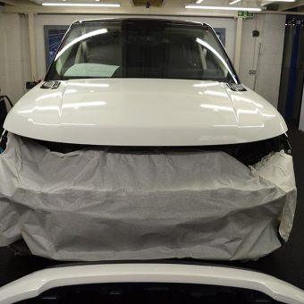 Range Rover Sport Wrap During Front