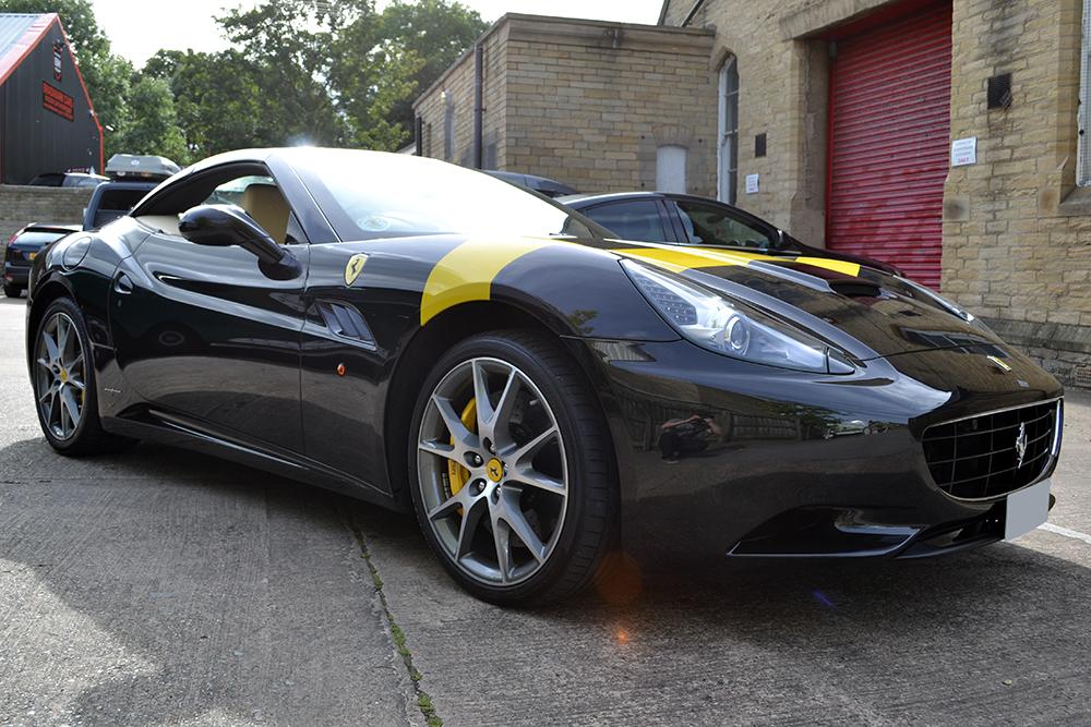 Ferrari California Bonnet Stripe Reforma Uk