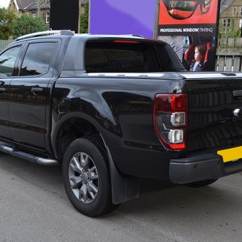 ford ranger raptor rear before