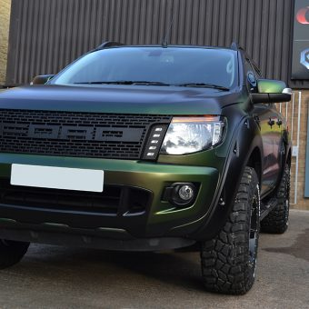 ford raptor urban jungle front