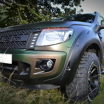 ford raptor urban jungle wrap avery grass