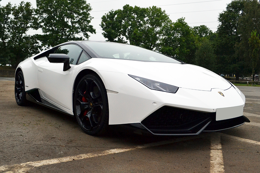 lamborghini huracan white - photo #7