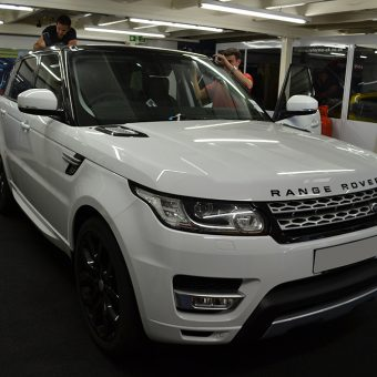 Range Rover Sport Reforma Wrapping