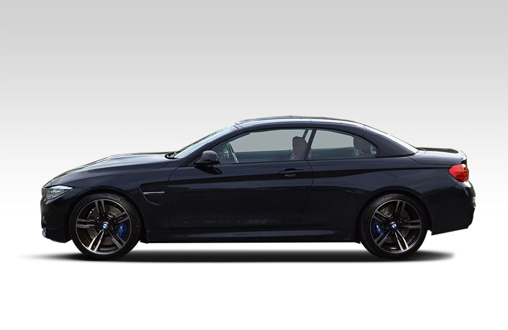 Before-Nardo Grey BMW Wrap