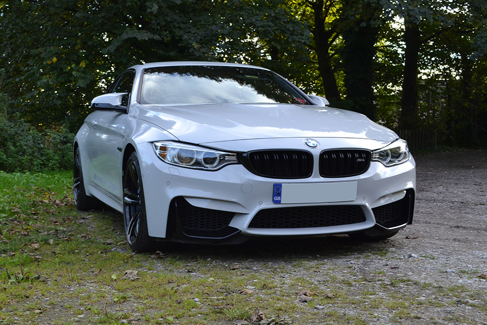 bmw m4 nardo grey wrap front