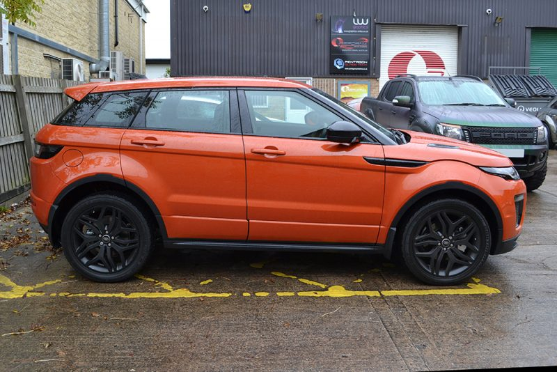 before evoque phoeni orange side