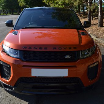 evoque roof wrap phoenix orange roof
