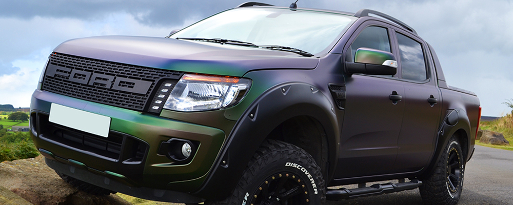 ford ranger colour flip vinyl