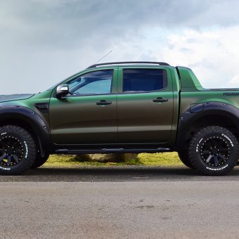 ford ranger wraptor reforma colourflow side