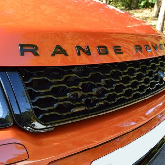 range rover evoque front grille