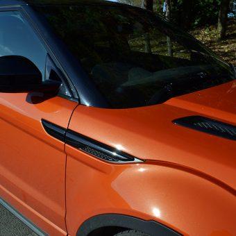 range rover evoque gloss black trims