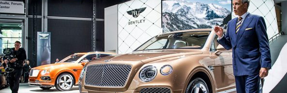bentley bentayga car show
