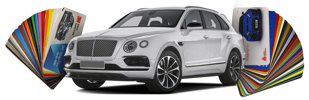 bentley bentayga wrapped