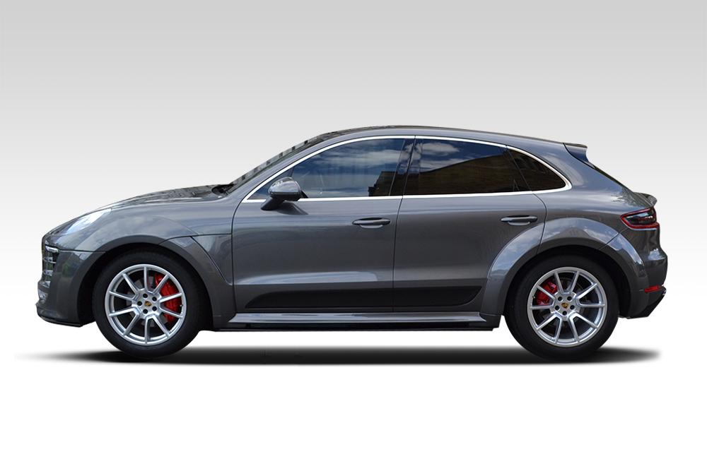 Before-Chrome Porsche Macan
