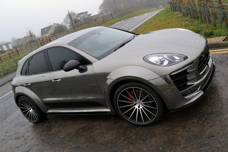 Porsche Macan Avery Supreme Chrome Front