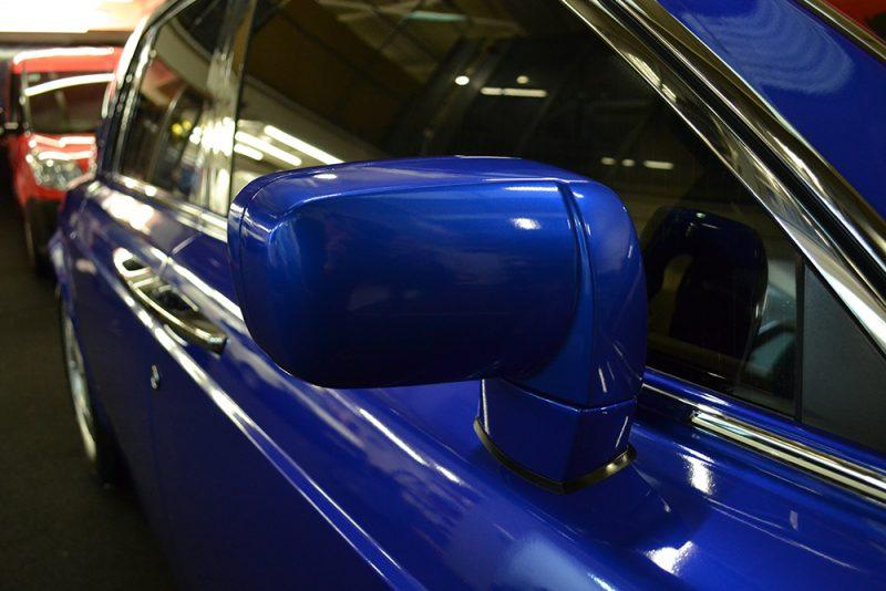 rolls royce phantom cosmic blue wing mirrors