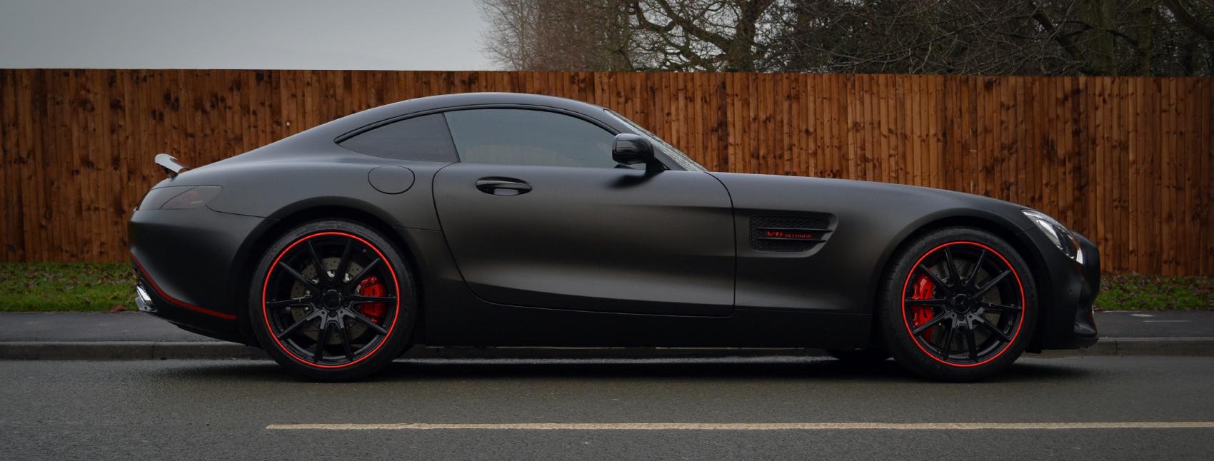 Mercedes AMG GTS Reforma UK Banner Case Study