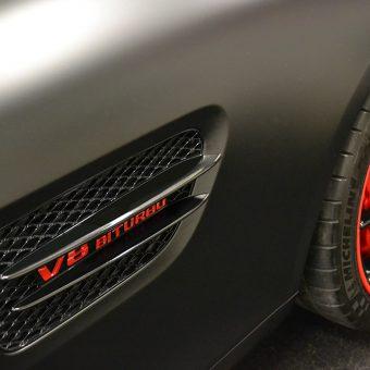 Mercedes SLS AMG V8 Biturbo Wrap