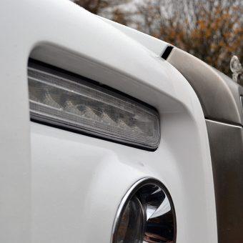 Rolls Royce Drophead White Wrap Front