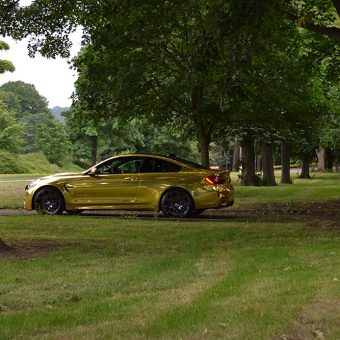 BMW M4 Chrome Gold Wrap by Reforma