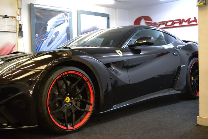 Ferrari F12 Wrap 3M 1080 Ember Black During
