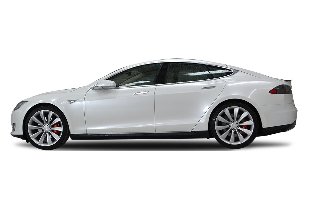 After-Tesla Model S Gloss Pearl
