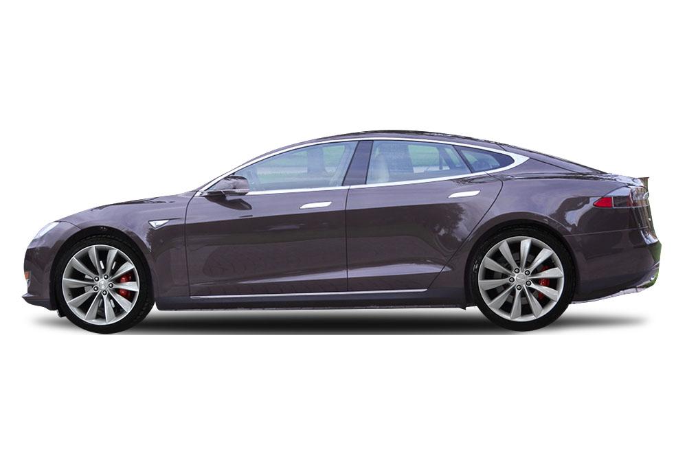 Before-Tesla Model S Gloss Pearl